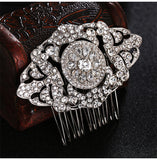 Valentina Vintage Style Bridal Comb- The Luxe Bride Co