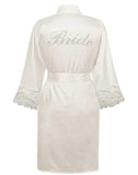 SILKY | Soft Satin Bridal Robe