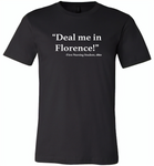 Deal me in florence the first nursing student in 1860 - Canvas Unisex USA Shirt