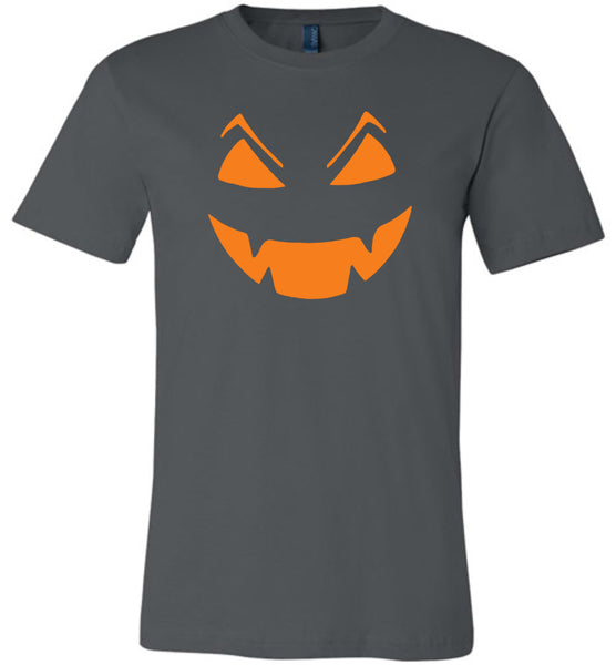 Pumpkin face halloween gift t shirt