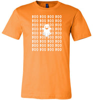 Boo ghost halloween costume t shirt gift