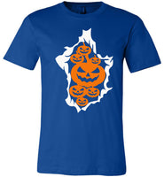 Pumpkin halloween costume t shirt gift