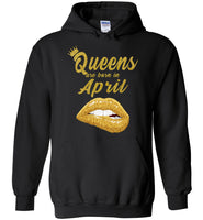 Queens are born in April T shirt, birthday gift shirt for women