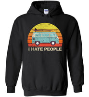 Funny camping tee shirt, Car camping I hate people T-shirt