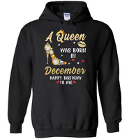 A Queen was born in December T shirt, birthday's gift shirt