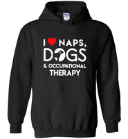 I love naps dogs and occupational threapy Tee shirt