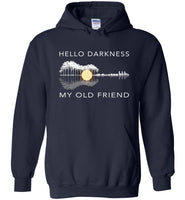 Hello darkness my old friend love guitar t shrit, Guitar lover T-shirt