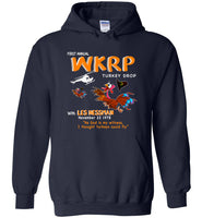First Annual WKRP Thanksgiving Day Turkey drop Shirt