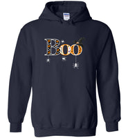 Boo witch hat spiders halloween gift tshirt