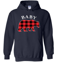 Red Plaid Baby Bear Matching Buffalo Family Pajama T Shirt