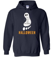 Eat drink and be scary Halloween foot t shirt gift