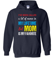 A lot of names in mylife but mom is my favorite T shirt, mother's day gift tee