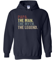 Papa the man the myth the legend vintage T-shirt