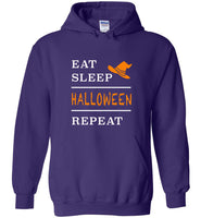 Eat sleep halloween repeat t shirt gift