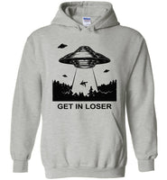 Get In Loser Vintage T-Shirt, Alien's Exist Vintage UFO Abduction Shirt