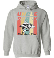 Retro Vintage uncle shark doo doo doo T-shirt, gift tee for uncle
