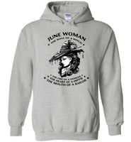 June Woman The Soul Of A Witch The Fire Lioness The Heart Hippie The Mouth Sailor Tee Tshirt