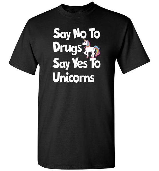 Say no say yes to Unicorns Shirt