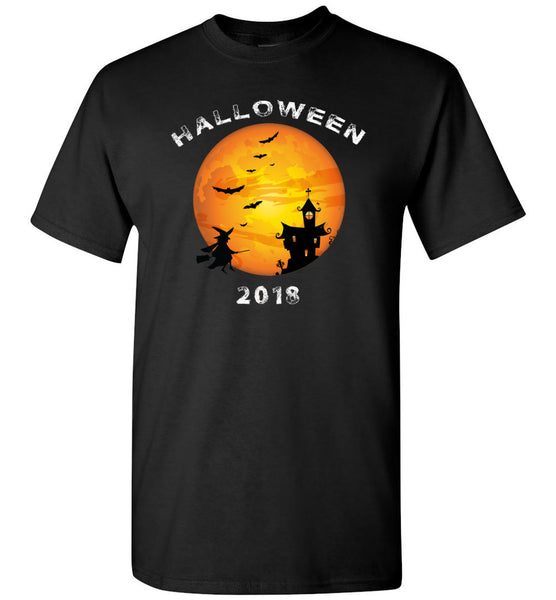 Witch broom halloween costume t shirt gift