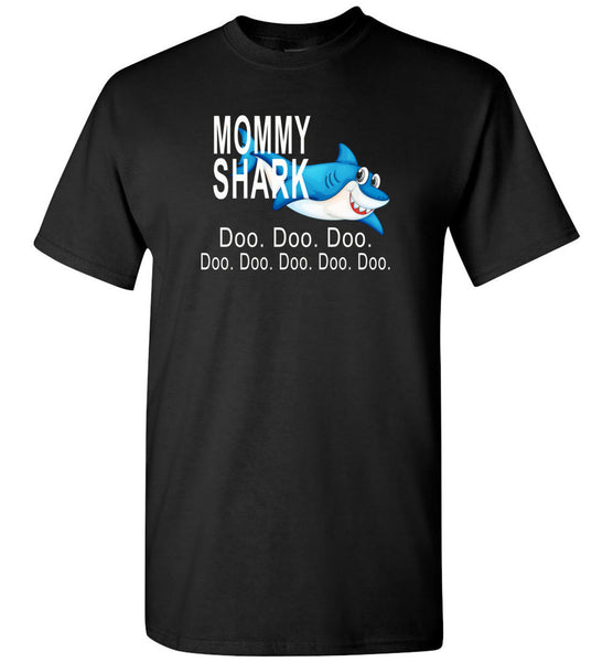 Mommy shark doo doo doo T-shirt, mother's day gift tee gift tee