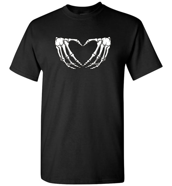 Skeleton hand halloween t shirt gift