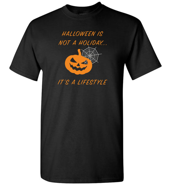 Halloween is a lifestyle pumpkin t shirt gift