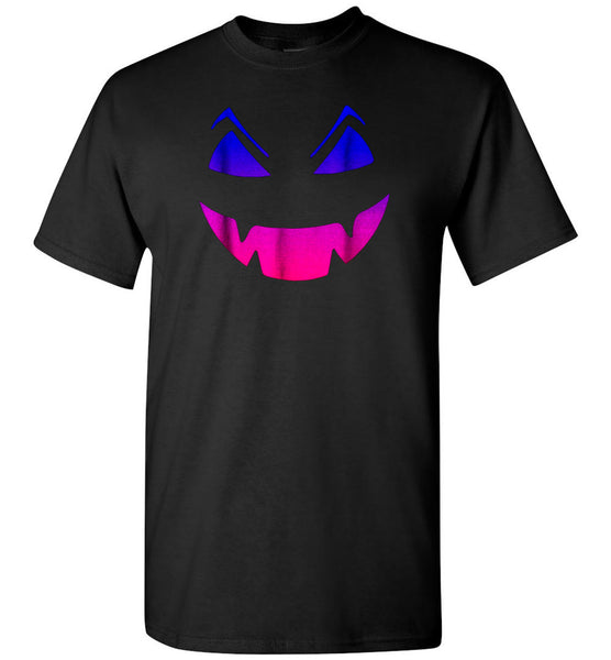 Pumpkin face halloween t shirt gift