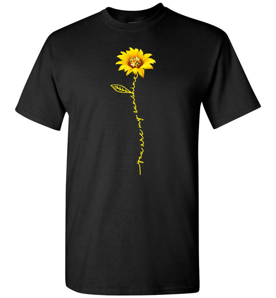Bee you are my sunshine sunflower T-shirt for men women