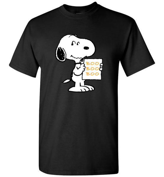 Snoopy boo halloween t shirt gift