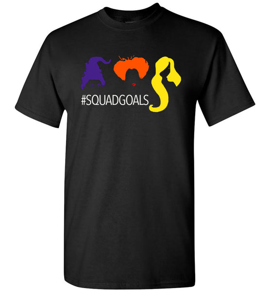 Sanderson sisters squadgoals halloween t shirt