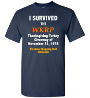 I Survived The WKRP Thanksgiving Turkey Giveaway T-Shirt