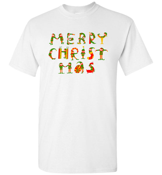 Merry Christmas xmas t shirt gift