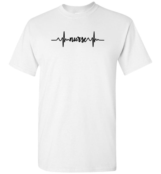 Nurse heartbeat Tee shirt