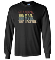 Grandpa the man the myth the legend vintage T-shirt