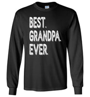 Best grandpa ever t shirt, tee father's day gifts