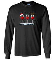 Just a girl who loves christmas and wine alcohol T-shirt