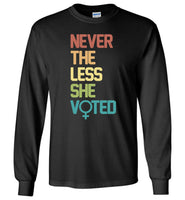 Nevertheless She Voted, vote, election T-shirt