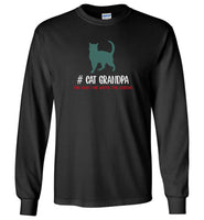 Cat grandpa the man the myth the legend T-shirt, gift tee for grandpa