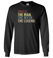 Uncle the man the myth the legend vintage T-shirt
