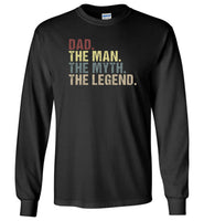 Dad the man the myth the legend vintage T-shirt