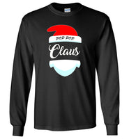 Pop pop claus funny christmas tee shirt for men women