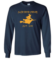 Salem broom company halloween t shirt gift est 1692