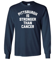 Pittsburgh is stronger than cancer shirt