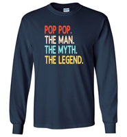 Pop Pop The Man The Myth The Legend Vintage T shirt