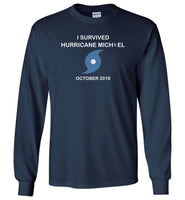 I survived Hurricane Michael October 2018 t-shirt