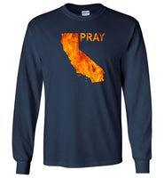 Pray for California wildfires 2018 T-shirt