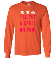 I'll put a spell on you halloween t shirt gift