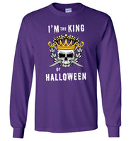 I'm the King of Halloween costume t shirt gift
