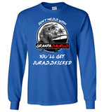 Don't Mess With Grandpasaurus You'll Get Jurasskicked t shirt