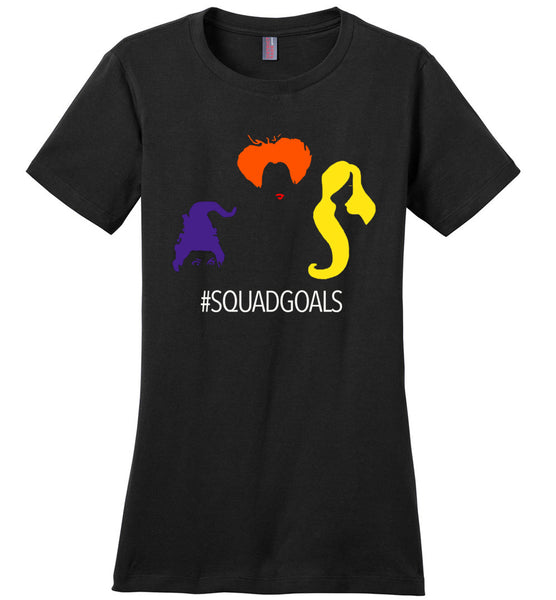 Squadgoals sanderson sisters halloween t shirt